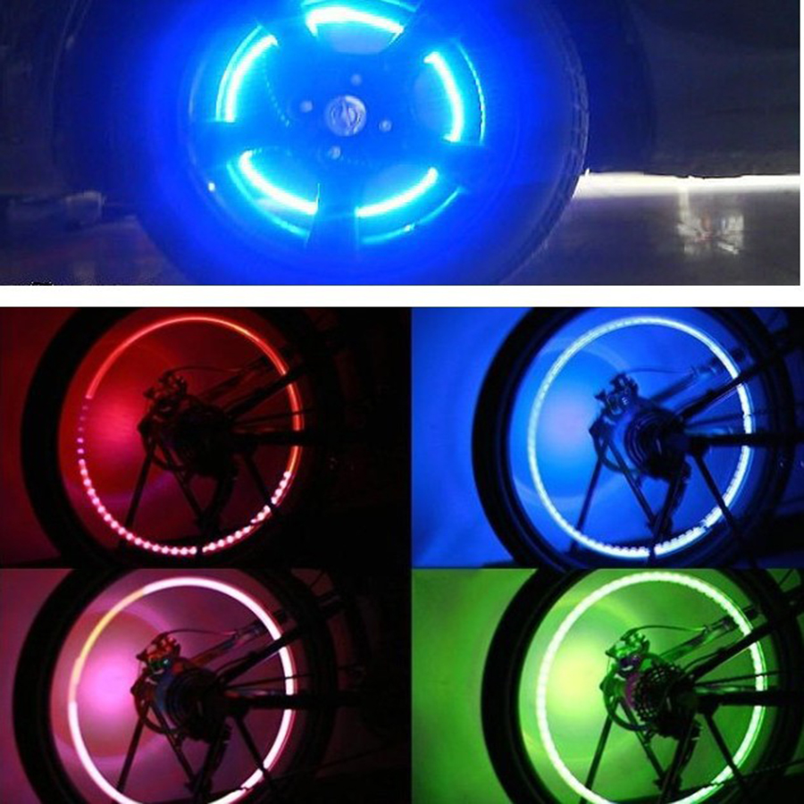 Car / Bicycle Wheel Flashing Light