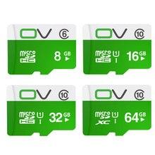 OV Памяти Карта Micro Sd 64 ГБ 32 ГБ 16 ГБ Class 10 SDXC SDHC UHS-1 TF Карт Microsd Флэш-Карты SD Карты Mini Sd Карты 8 ГБ Clss6
