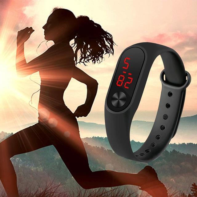 Relogio Digital de relógio das Mulheres dos homens Relógios montre homme Inteligente Anel da Mão relógio Do Esporte Relógios Led Moda Esportes Eletrônicos relógio
