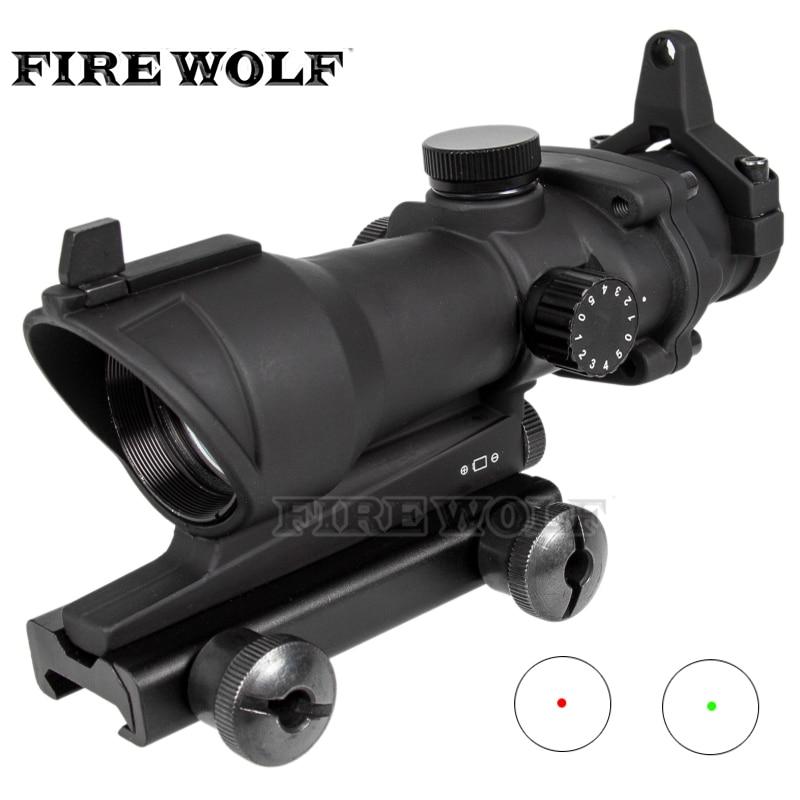 Trijicon 1X32 Red Green Dot Scope Tactical Optics Sight Hunting Shooting Riflescope Airsoft Rifle Sight Fit 20mm Rail Mount цена