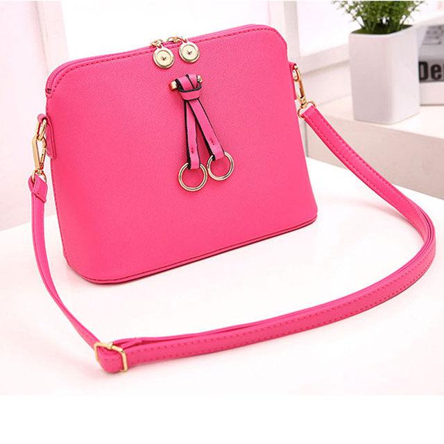 2017 High Quality Tassel Messenger Bags New Fashion Women Crossbody Shoulder Bags Designer Handbags Shell Bags