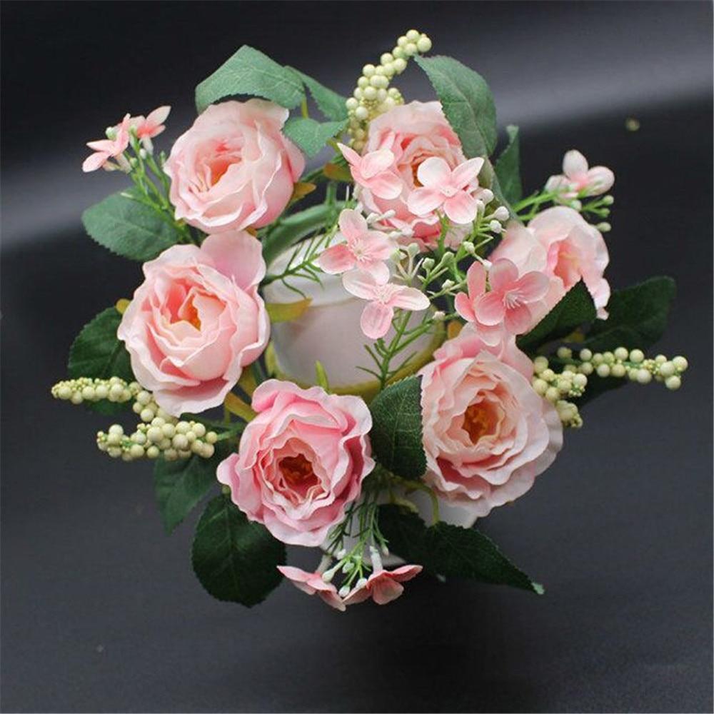 5 kahvli / tükkide kaunistamiseks Pulmad dekoratiivsed lilled - Pühad ja peod - Foto 5