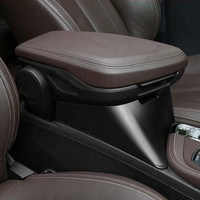 For BMW X1 2016 18 ABS Multifunction Central Armrest Storage Box Decoration Cover Trim Car Styling Modified Heightening Type