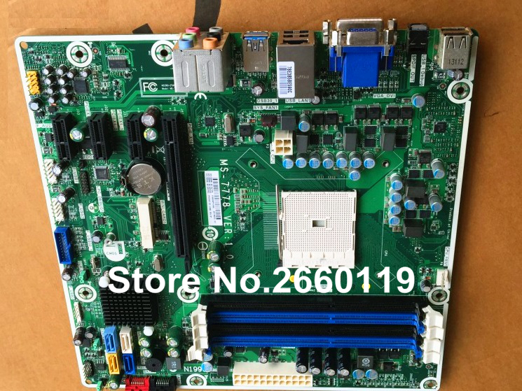 ФОТО Desktop motherboard for HP MS-7778 700846-001 696333-001 system mainboard fully tested and perfect quality
