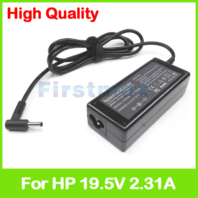 19.5V 2.31A laptop charger ac adapter for HP EliteBook 755 G5 830 G3 745 G5 830 G4 830 840 850 G5 EliteBook 1020 G2 x360