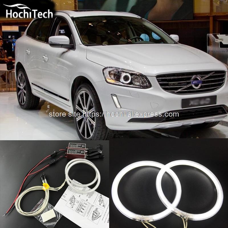 HochiTech Ccfl Angel Eyes Kit White 6000k Ccfl Halo Rings Headlight For Volvo Volvo XC60 With