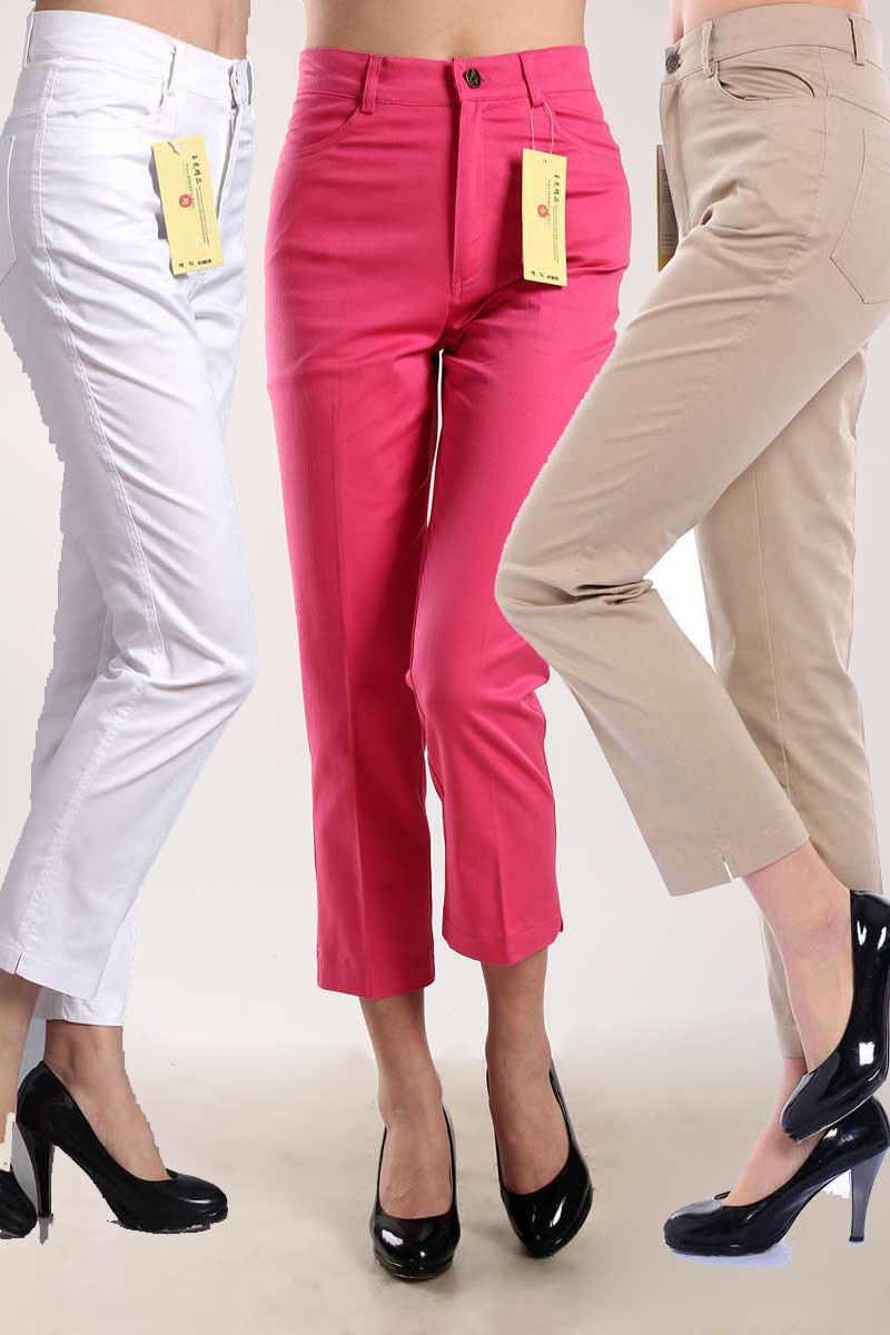 Elegant Womens White Cotton Pants | Pant So