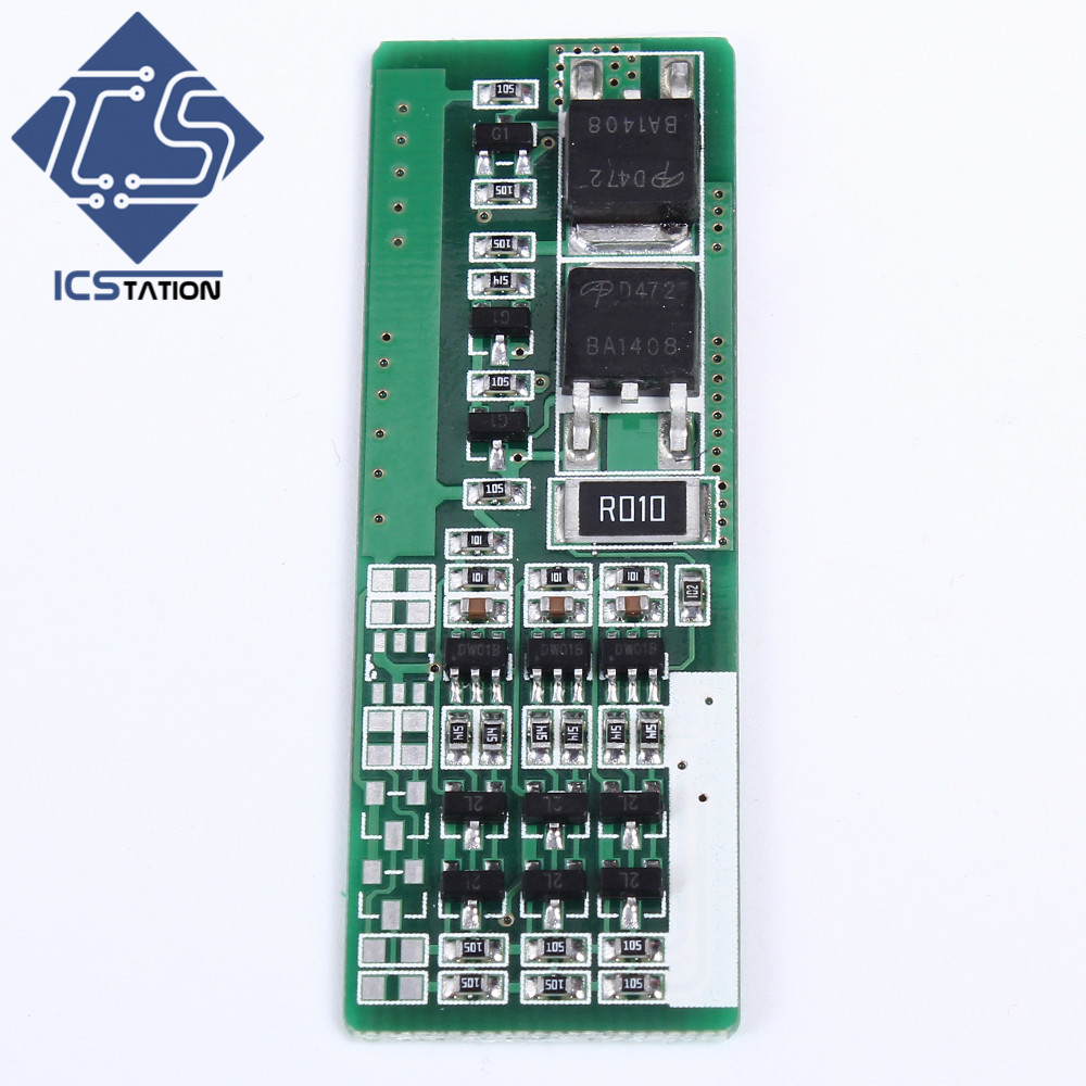 3S 8A Li-ion Lithium Polymer Battery Protection Board 3.7V 12V 3 Serial PCB Charging Protection Module solar charger special single section li ion battery charging board lithium polymer battery