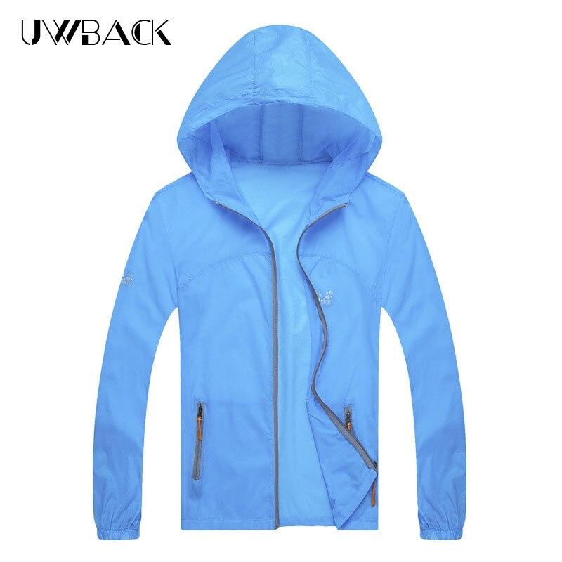 LILL | Men Summer Casual Jacket Thin Quick Dry Women Fashion Anti-Uv Jackets Hooded Windbreaker Light Couple Coats M-4XL XAA030