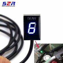 Gear Indicator Voor Ducati Cafe Racermonster 696 796 1100 Scrambler 400 Ecu Plug Mount Speed Gear Display Indicator 1 6 Niveau
