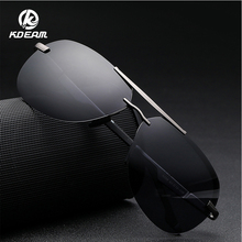 KDEAM 2019 Fashion Polarized Pilot Style Sunglasses High Definition TR90 100% UV400 5 Colors KD558