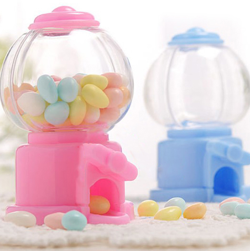 Mini Cute Sweets Cans Saving Coin Bank Money Boxes Candy Gumball Dispenser