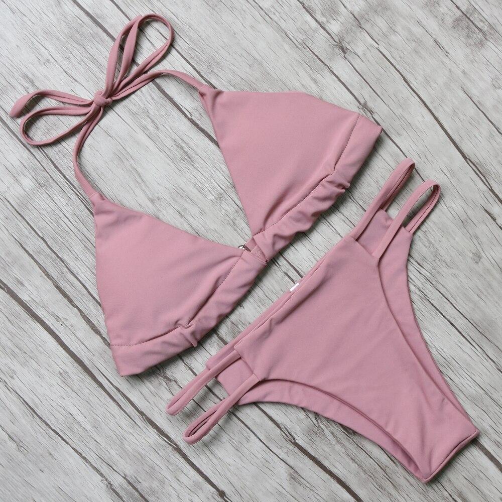 ᑎ‰Baño bikini bañadores mujeres push up 2016 bikini set biquini ...