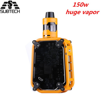 Hot!SUB TWO 150W vape kit huge vapor bulit-in 3500mah battery Electronic Cigarette fashion Smoke Vaporizer electronic hookah huge vapor 150w vape kit big power 150w box mod laser e cigarette cool vaper kit 3500mah battery electronic cigarette vaporizer
