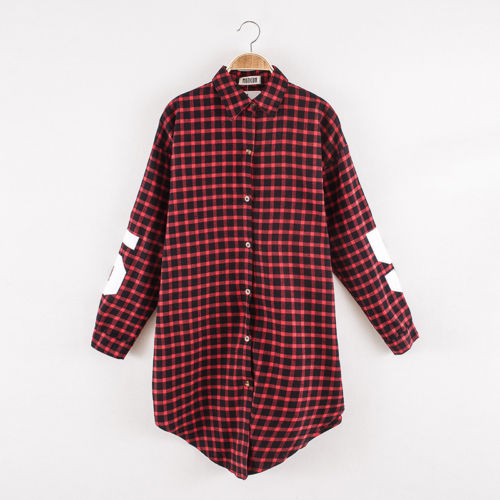 Online buy wholesale black plaid shirt from china black for Buy plaid shirts online