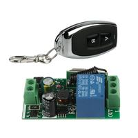 Transmitter Receiver Module 433MHz RF Learning Code 2 Channel Transmitter Remote Control