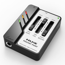 NUX Pocket Port Portable Guitar USB Audio Interface Professional Guitar Accessories стоимость