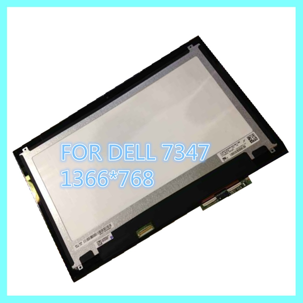 LCD LED Display Screen Touch Panel Digitizer Full assembly LP133WH2-SPB1 for Dell inspiron 13 7347 7348 lp133wh2 sp b1 for dell inspiron 13 7359 digitizer lcd touch screen assembly led display replacement 1366 768