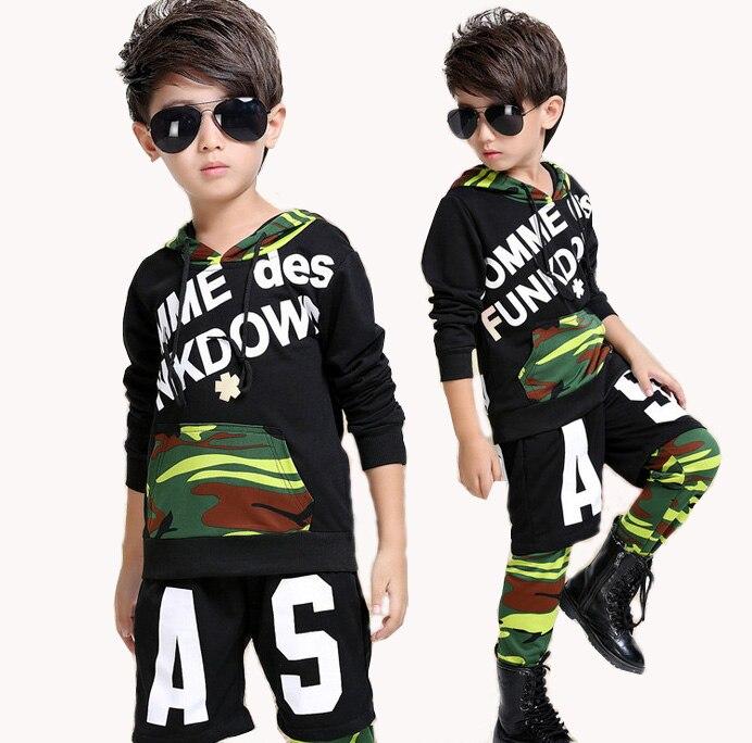 4c139327877b2 Aliexpress.com  Comprar Kid Camuflaje Modern Jazz Dance Hip Hop Trajes de  Competencia Set para Chicas Chicos Ropa Ropa Con Capucha Sudadera  Pantalones ...