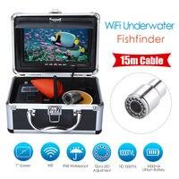 EYOYO WF13W 15M 7 15M HD 1000TVL Underwater Night Vision LCD Monitor Fishing Camera Video Fishfinder