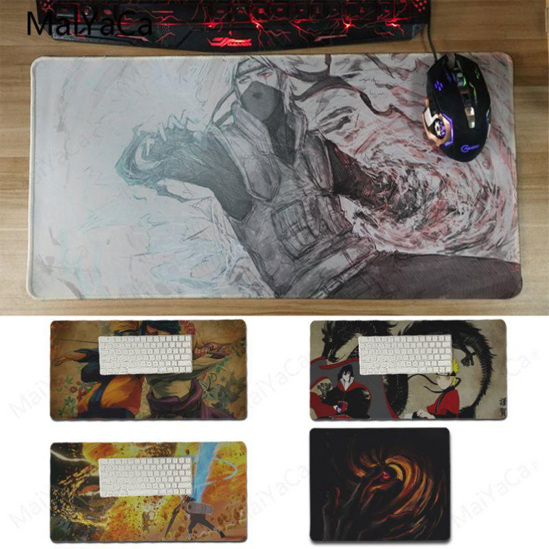 Yinuoda Нескользящие PC Какаши и Саске геймер Скорость мыши розничной маленький резиновый коврик Размеры 18x22 см 20x25 см 25x29 см 30x60 см