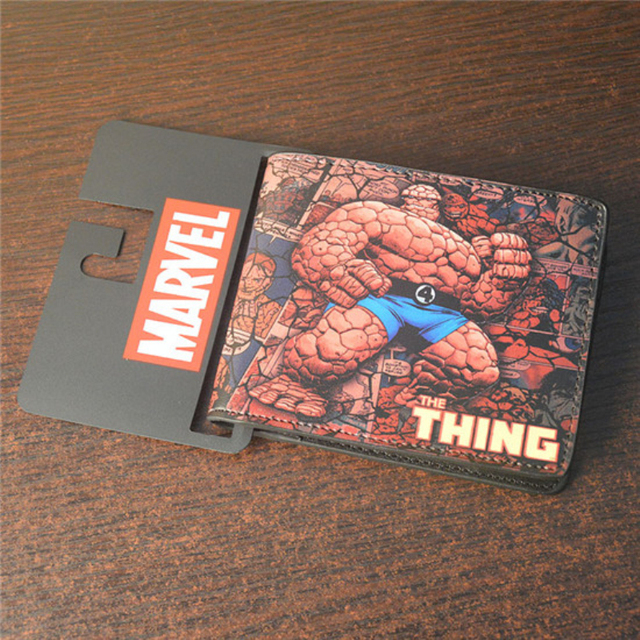 Wholesale DC Drift Series Wallet Purse10 of super heros Punisher Hulk Iron Man Venom Flash Thor Clown Deadpool Cartoon Wallet Girl's Shoes
