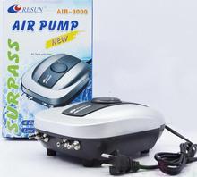 Resun air-8000 Air Pump, easy install, idea for small marine plant tank aquarium