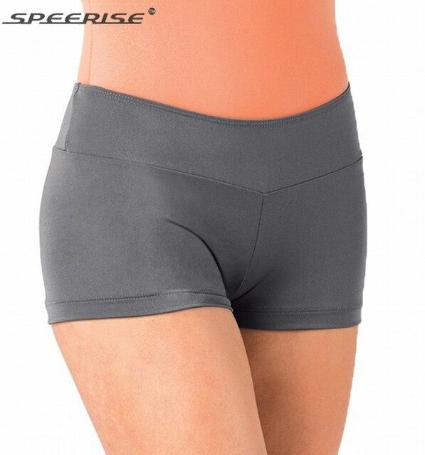 841f645a2dc2 Speerise Womens Lycra Spandex Ballet Jazz Gymnastic Hot Boy Shorts Dance  for Dancewear Wholesale Dance Shorts