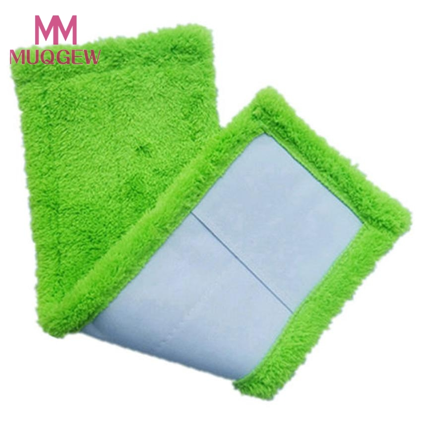 2020 Hot New 3 Colors Replacement Microfiber mop Washable Mop head Mop Pads Fit Flat Spray Mops Household Cleaning Tools(China)