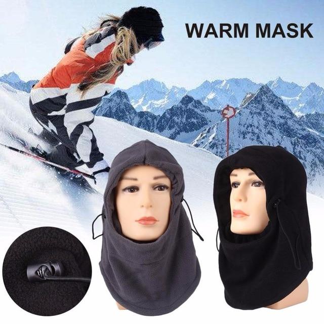 Relefree Neck Balaclava Winter Face Hat Velvet Hood Ski Mask Warm Helmet Ski Bike Wind Stopper Face Mask Hiking Scarves Masks