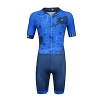 EMONDER Pro Team Triathlon Suit Men Cycling Clothing Skinsuit Jumpsuit Maillot Cycling Jersey Sets Bike Sports Clothing Ciclismo