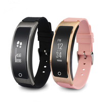 New Smart Bracelet Heart Rate Pulse Blood Pressure Waterproof Sport Watch Fitness Tracker Pedometer Wristband For