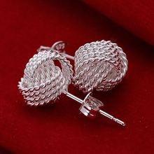 Elegant Silver Plated Earrings