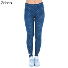 Women Freeride Deer Dots Legging High Waist