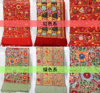 Nepal national features, 100% pure manual embroidery, ms pure wool shawls scarf silk scarves for women