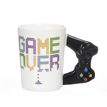 400ml 3D Creative Gamepad Porcelain Coffee Tea Milk Hot Water Cup Drinkware  GAME BOY MUG Game Machine Coffee Cup Christmas Gift particular handled skull design 400ml wine coffee tea cup