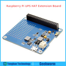 Raspberry Pi 4 UPS HAT Extension Board Raspi Power Source Board Raspberry Pi Battery Adapter Power Supply for Pi 3 Model B+/3B/(China)