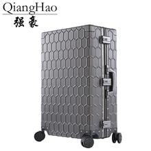 Дорожный чемодан с выдвижной ручкой чемодан Алюминий сплава с замком TSA Hardside Чемодан чемодан с колесами