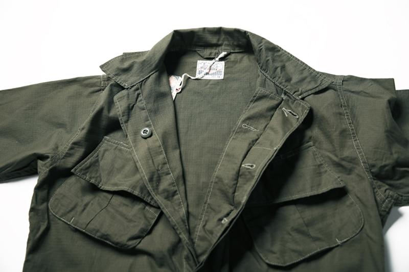 Sin STOCK TCU Ripstop Slant bolsillo jungla camisas militar fatiga mangas cortas-in Camisas casuales from Ropa de hombre    3
