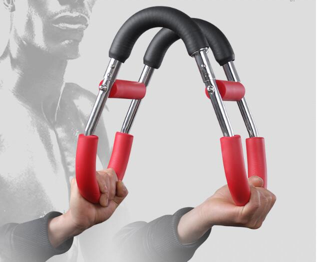 Adjustable Stainless Steel Hand Gripper U-Shape Arm Muscle Trainer Home Fitness Strength Training Equipment Free Shipping adjustable stainless steel hand gripper u shape arm muscle trainer home fitness strength training equipment free shipping
