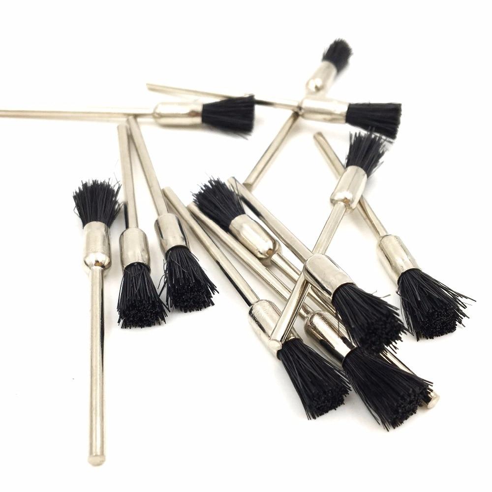 GOXAWEE 100 pz Spazzola abrasiva Setola Capra Spazzola per capelli - Utensili abrasivi - Fotografia 6