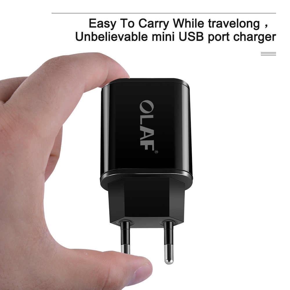 Olaf USB зарядное устройство для iPhone X 8 7 iPad настенное зарядное устройство ЕС адаптер для samsung S9 S8 huawei p20 lite pro Xiaomi Mi 8 зарядное устройство для телефона