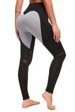 Любовь цвет мозаика леггинсы дышащие для йоги спортивные женские Леггинсы Легинсы для фитнеса женская спортивная беговая дорожка компрессионная
