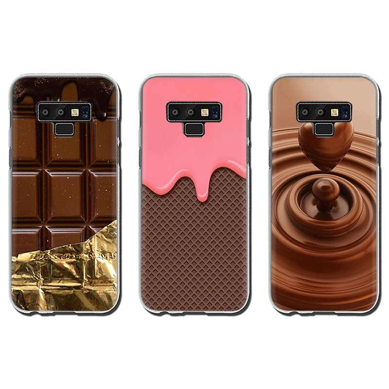Alenka bar wonka cioccolato cassa del telefono Duro per Samsung A5 A7 A9 A6 A8 Più A10s 20s 30s 40s 50s 60 70
