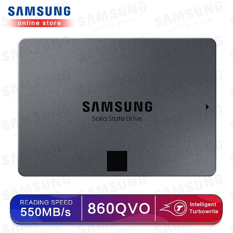 SAMSUNG MZ 76Q1T0BW 860 QVO 1TB 2TB 4TB SSD Solid State Hard Disk Laptop SSD Solid State Disk 1T-in Internal Solid State Drives from Computer & Office