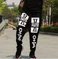 Free shipping Autumn and winter male pants plus size Elastic Waist wei pants fat casual print Hip-Hop long trousers 2xl-8xl