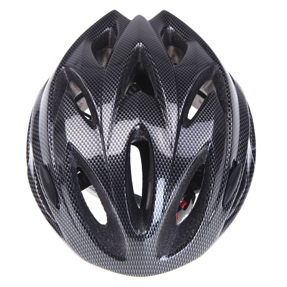 8 Wholesale X(Good deal 18 Vents Ultralight Integrally molded Sports Cycling Helmet with Visor Mountain Bike Bicycle Adult Black|Bicycle Helmet| |  - title=