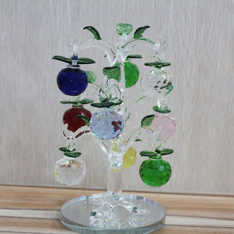 Wholesale Cheap Price Crystal Apple Tree Crystal