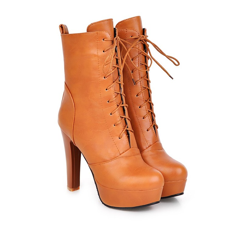 2017 Sale Botas Mujer Plus Big Size 34-45 Women Boots Winter Spring Autumn New Fashion Shoes Increasing Comfortable Casual 2151 мужские ботинки spring autumn hightop size38 45 2