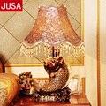 Высококачественная модная настольная лампа из смолы для учебы  гостиной  отеля  виллы